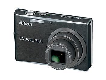 Nikon Coolpix S710 Digital Camera - Black