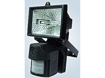X-Core XPL2CZ3 Motion Sensor 300W Floodlight with built-in Color CCD Camera NTSC
