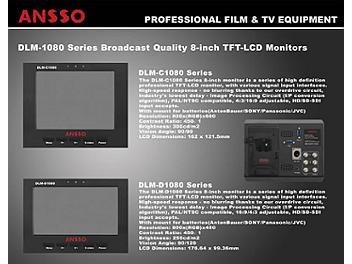 Ansso DLM-C1080HF 8-inch LCD Monitor