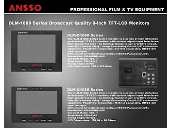 Ansso DLM-D1080BS 8-inch LCD Monitor
