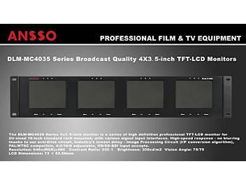 Ansso DLM-MC4035A 4 x 3.5-inch LCD Monitor