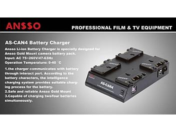 Ansso AS-CAN4 Battery Charger