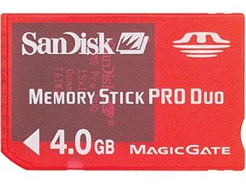 SanDisk 4GB Memory Stick Pro Duo Gaming Edition Card (pack 50 pcs)