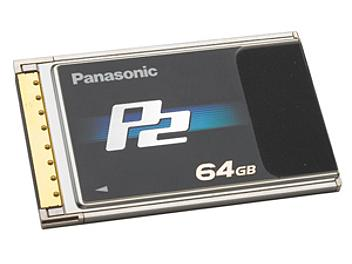 Panasonic AJ-P2C064AG P2 Card 64GB