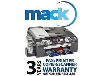 Mack 1032 3 Year Fax/Printer/Scanner International Warranty (under USD2500)