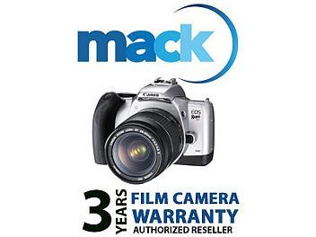 Mack 1008 3 Year 35mm Camera International Warranty (under USD500)