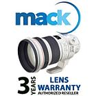 Mack 1086 3 Year Pro Lens International Warranty (under USD10000)