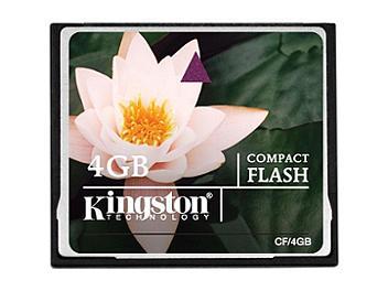 Kingston 4GB Standard CompactFlash Memory Card (pack 25 pcs)