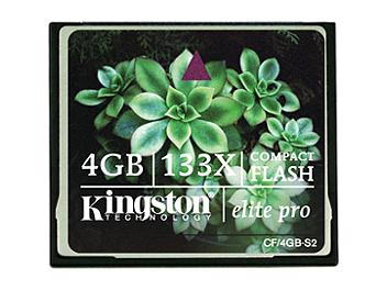 Kingston 4GB CompactFlash Elite Pro Memory Card (pack 50 pcs)