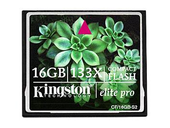 Kingston 16GB CompactFlash Elite Pro Memory Card (pack 25 pcs)