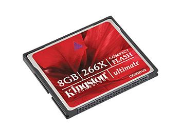 Kingston 8GB CompactFlash Ultimate 266x Memory Card (pack 10 pcs)