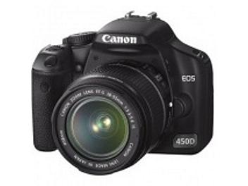 Canon EOS-450D DSLR Camera Kit with Canon EF-S 18-200mm IS Lens