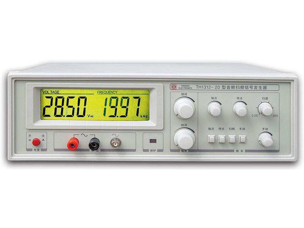 Tonghui Th1312 20 Audio Sweep Signal Generator