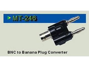 Pintek MT-246 BNC to Banana Converter