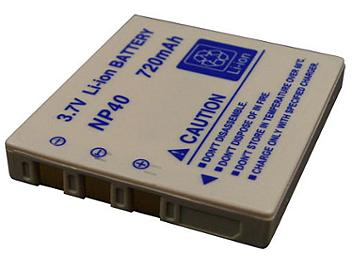 Generic NP40 Lithium ion Battery