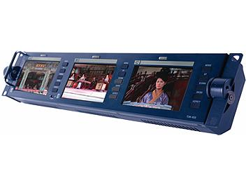 Datavideo TLM-433 3 x 4.3-inch LCD Monitor