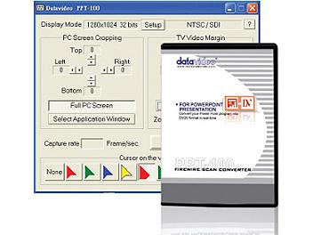 Datavideo PPT-100 Scan Converter Software