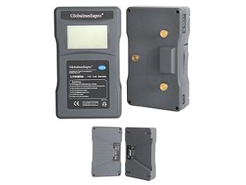 Globalmediapro Li190BDA Gold Mount Li-ion Buddy Battery System 190Wh