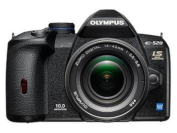 Olympus E-520 DSLR Camera Kit with Olympus 14-42mm Lens