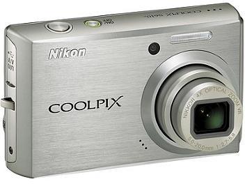 Nikon Coolpix S610 Digital Camera - Silver