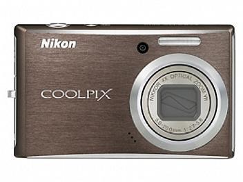Nikon Coolpix S610 Digital Camera - Brown