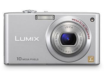 Panasonic Lumix DMC-FX35 Digital Camera - Silver