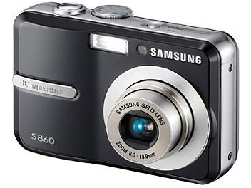 Samsung S860 Digital Camera - Black