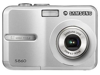 Samsung S860 Digital Camera - Silver