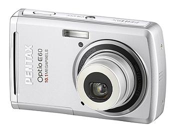 Pentax Optio E60 Digital Camera - Silver