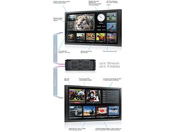StreamLabs MultiScreen 20 TV Signal Monitoring System