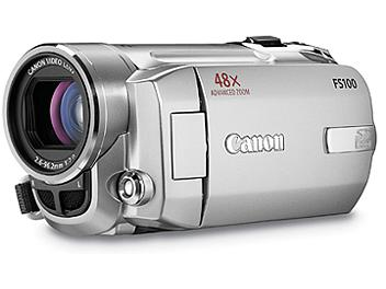 Canon FS-100 Flash Memory Camcorder PAL - Silver