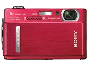 Sony Cyber-shot DSC-T500 Digital Camera - Red
