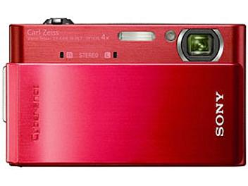 Sony Cyber-shot DSC-T900 Digital Camera - Red
