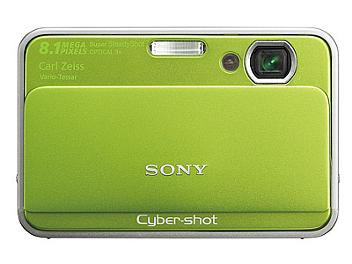 Sony Cyber-shot DSC-T2 Digital Camera - Green