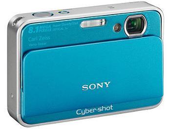 Sony Cyber-shot DSC-T2 Digital Camera - Blue
