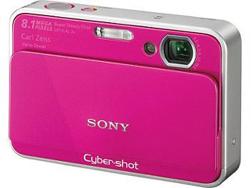 Sony Cyber-shot DSC-T2 Digital Camera - Pink