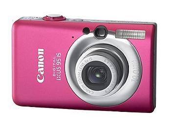 Canon IXUS 95 IS Digital Camera - Pink