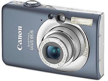 Canon IXUS 95 IS Digital Camera - Grey