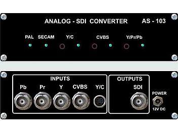 VideoSolutions AS-103 Analog-SDI Converter PAL/SECAM