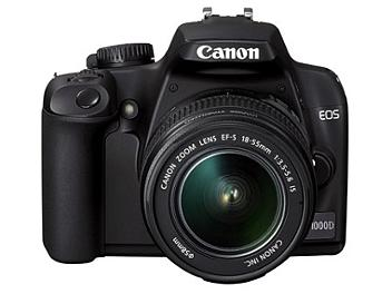 Canon EOS-1000D DSLR Camera Kit with Canon EF-S 18-55mm IS Lens