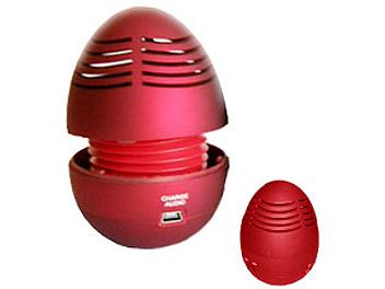 Generic Easter Egg Speaker - Red (pack 10 pcs)
