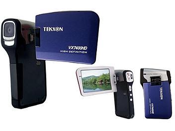 Tekxon VX7400HD Digital Camcorder - Blue