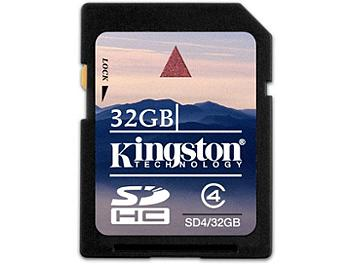 Kingston 32GB Class-4 SDHC Memory Card