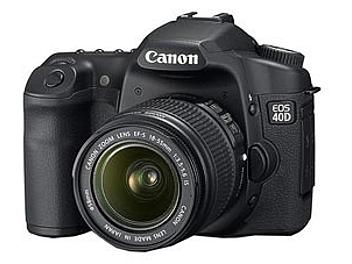 Canon EOS-40D DSLR Camera Kit with Canon EF-S 18-55mm IS Lens and Canon EF-S 55-250mm IS Lens