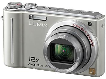 Panasonic Lumix DMC-TZ7 Digital Camera - Silver