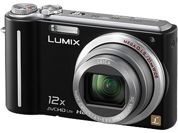 Panasonic Lumix DMC-TZ7 Digital Camera - Black