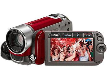 Canon FS-200 Flash Memory Camcorder PAL - Red