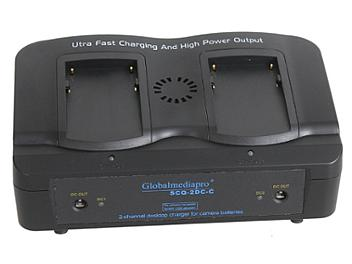 Globalmediapro SCQ2-DC-C 2-channel Charger