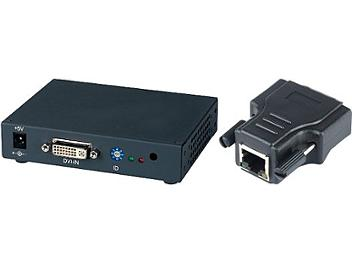 Globalmediapro SHE DE03 DVI CAT5 Extender and Distributor (Transmitter and Receiver)