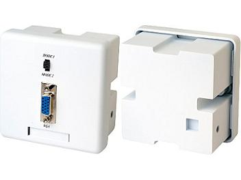Globalmediapro SHE VW02 Wall Plate VGA CAT5 Extender (Transmitter and Receiver)